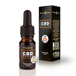 CBD Oil drop Hempseed oil base 5%