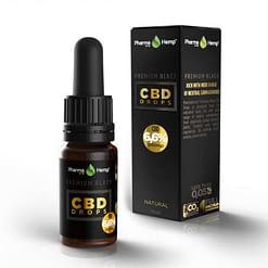 Premium Black CBD Oil Drop 6.6%